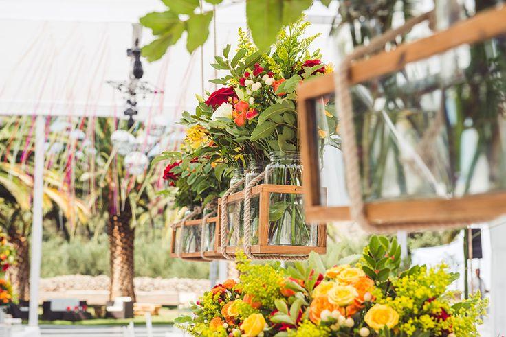 Matrimonio Espacio Gastronómico. #Matrimonio #Banqueteria #Decoracion #Flores #Columpios #Boda #Wedding #Catering #Flowers