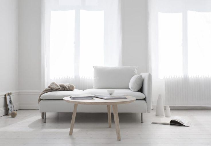 White or light grey floors