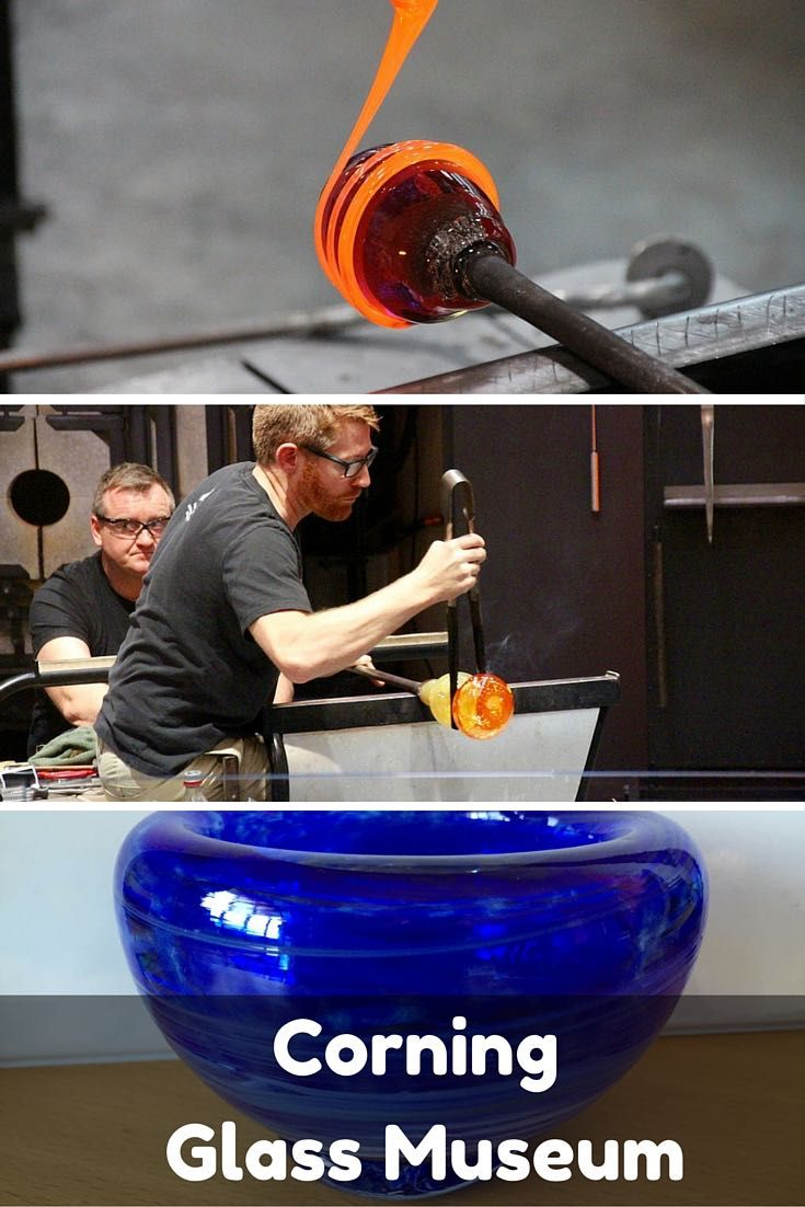 The Corning Glass Museum is an art museum, history museum, tech museum and hands-on create your own glass museum.