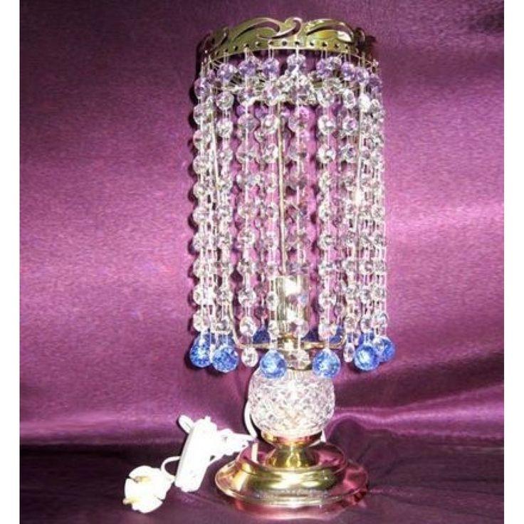 Купить настольную лампу хрустальную Анжелика 2 Шар 20 в интернет-магазине Люкс Свет +7 (4922) 60-02-05, низкая цена от производителя из Гусь-Хрустального, фото, отзывы