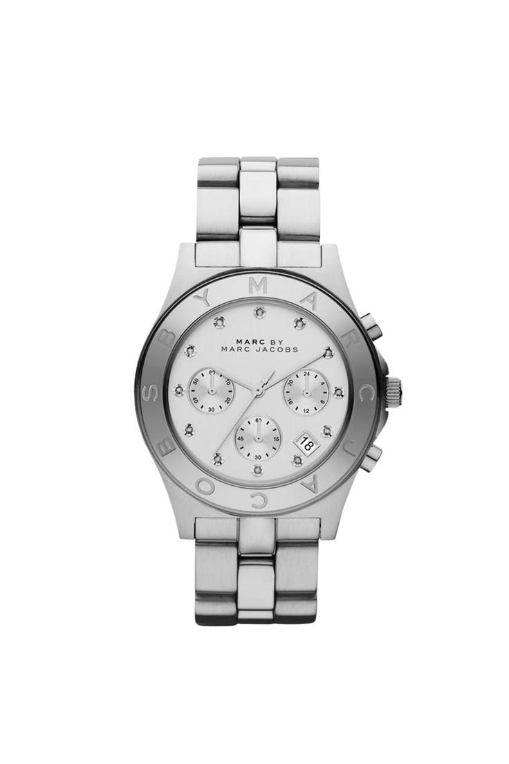 MARC BY MARC JACOBS BLADE IN SILVER $225.00