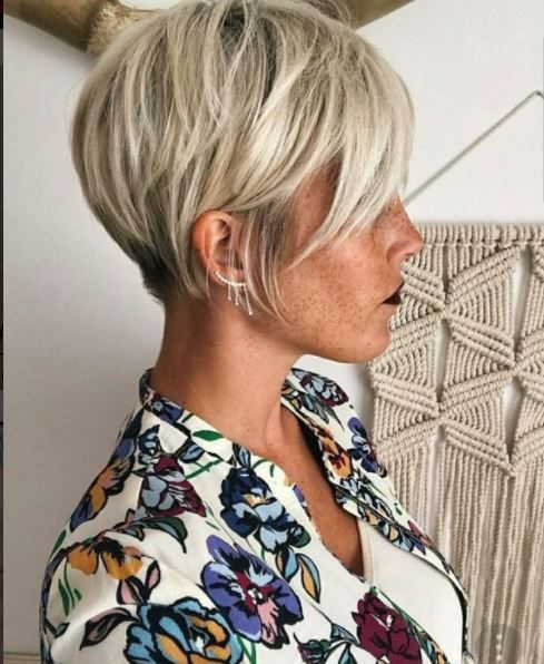 13x The Most Beautiful Blonde Pixie Hairstyles! – Hairstyle-Center.com