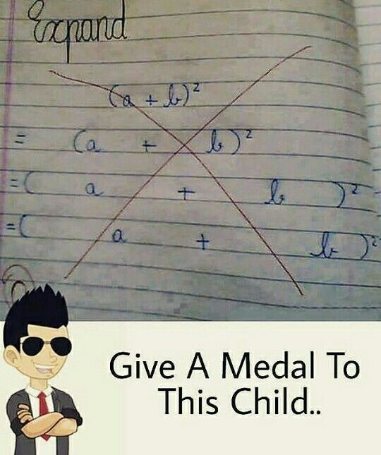Give a medal to this child
