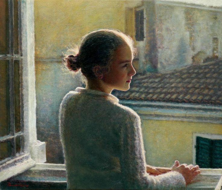 Οικονόμου Οδυσσέας-At The Window