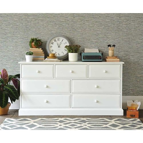 Provence Painted Chest of Drawers 3+4 including free delivery (609.011) | Pine Solutions - DKW56