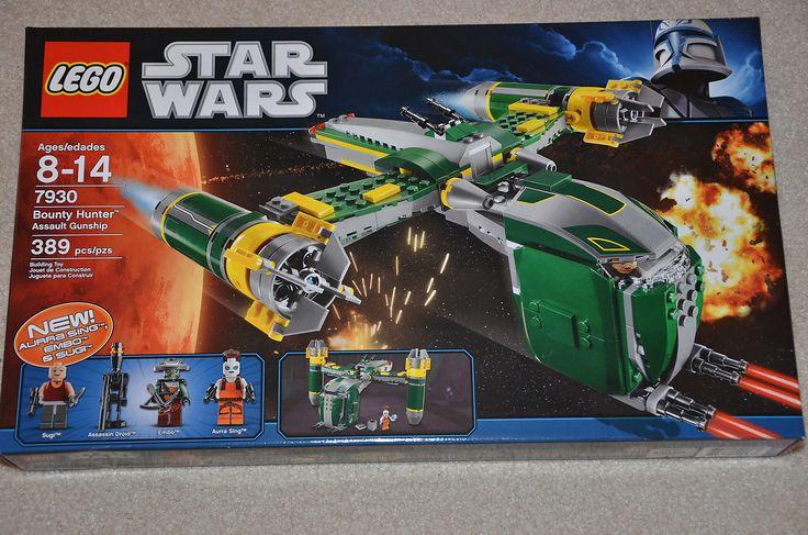 LEGO 7930 Star Wars Bounty Hunter Assault Gunship set  NEW