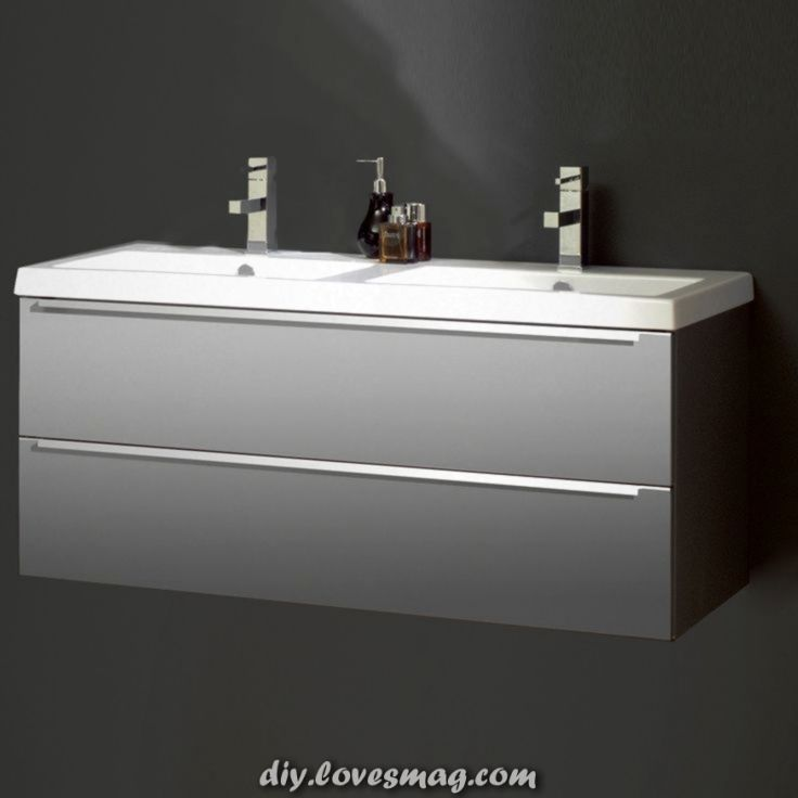 Waschbecken 1cm Breit Schones Konzeption Doppelwaschtisch Mit