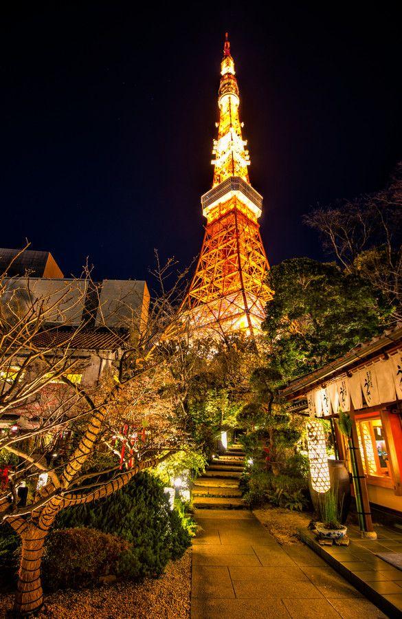 Tokyo Tower, Japan | Peicong Liu on 500px 東京タワー