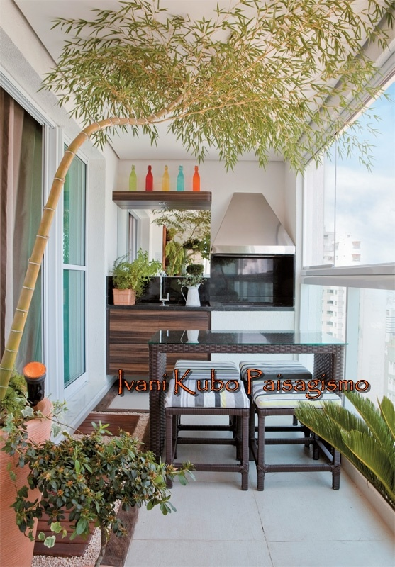 Conhecido 53 best Paisagismo em varanda de apartamento images on Pinterest  XB69