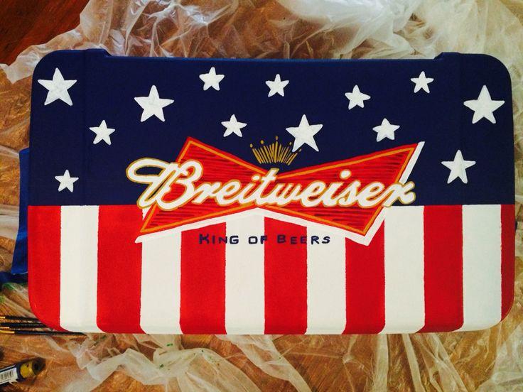Budweiser fraternity cooler design