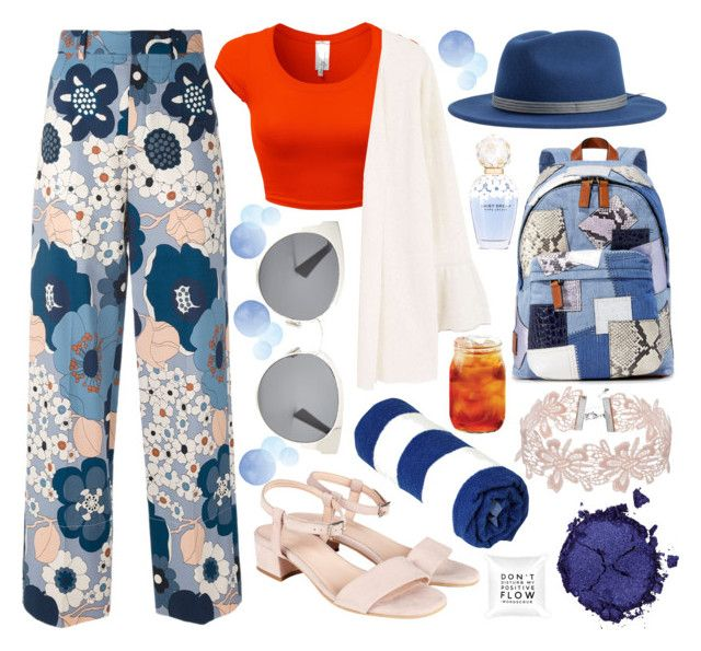 Blue oranges by slytheriner on Polyvore featuring MANGO, Chloé, Marc Jacobs, Christian Dior, Brixton and Pat McGrath