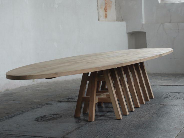 PAKE SYTSE Table ovale by Pilat