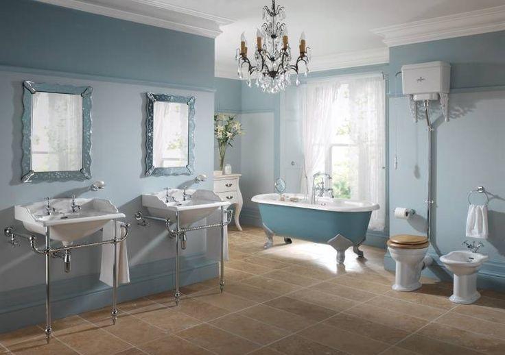 big bathroom victorian style with bidet toilet