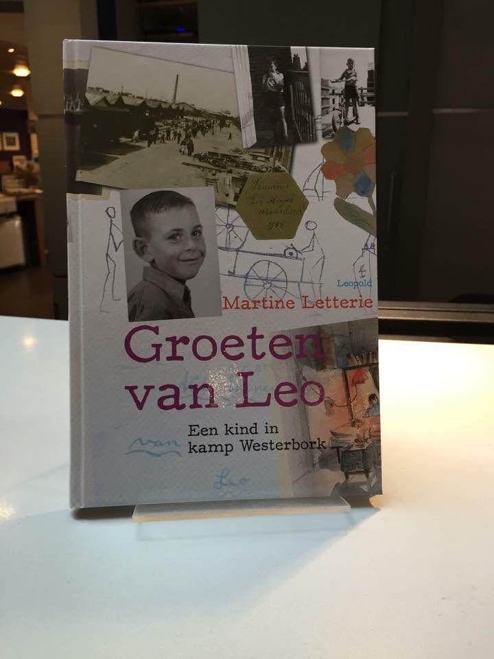 60/53 Martine Letterie - Groeten van Leo.