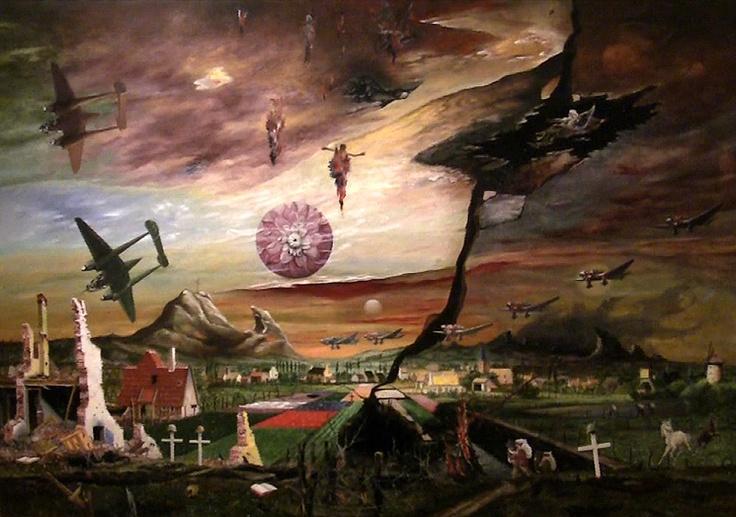 """""""Flandern"""" von Franz Radziwill - 1940-1950 (Neue Nationalgalerie Berlin)"""