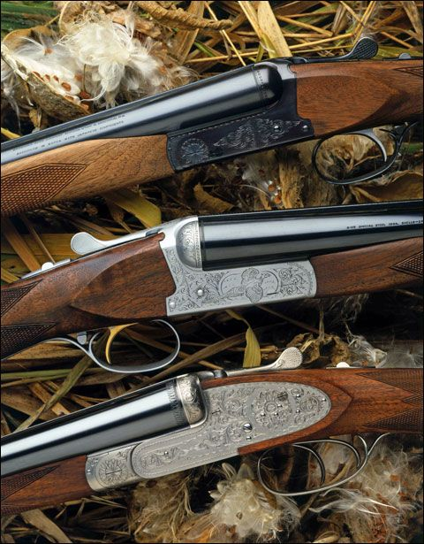 Three vintage BSS (Browning Side by Side)
