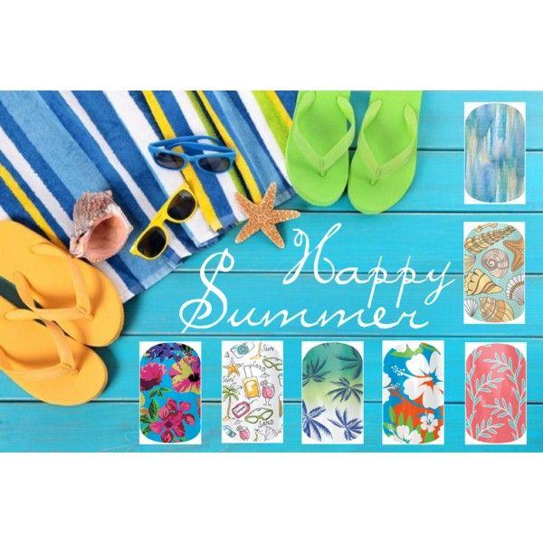 """Summer Jamberry Style"" by sarahpturner.jamberrynails.net, facebook.com/sarahjams"