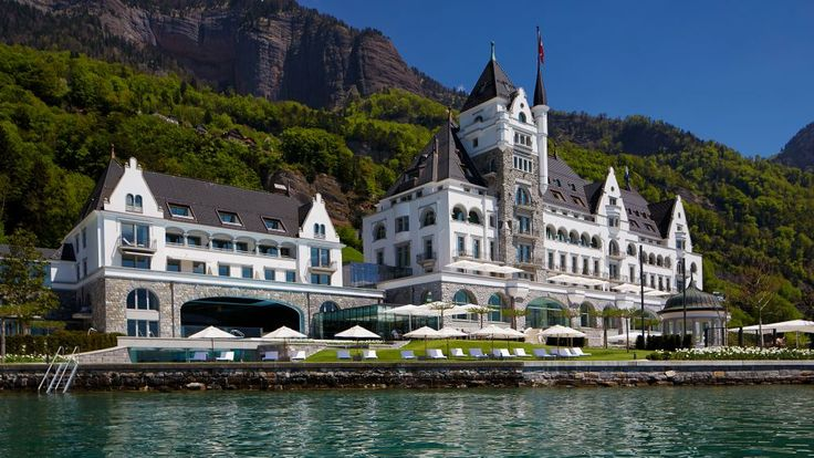 Wonderful and Romantic Hotel Located in Monte Rigi, Switzerland