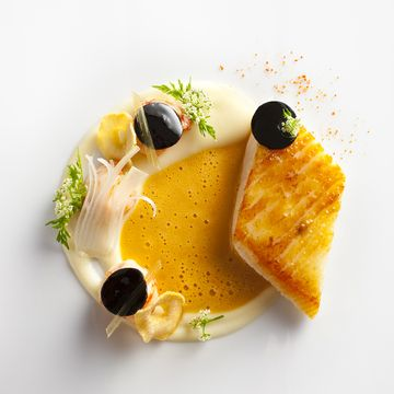 A recipe by daniel humm four magazine plating for John dory recipe