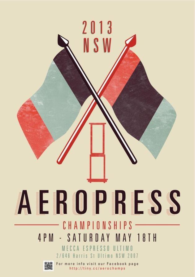 aeropress championships poster