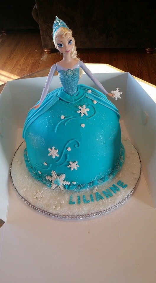 25+ best ideas about Frozen barbie cake on Pinterest ...