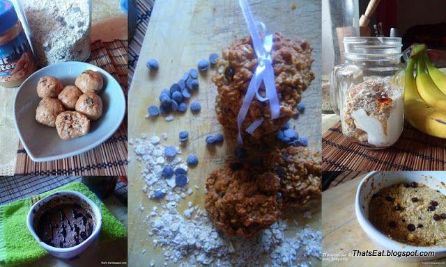 That's Eat!: 8 ΕΥΚΟΛΕΣ ΣΥΝΤΑΓΕΣ ΜΕ ΒΡΩΜΗ - 8 EASY OAT RECIPES