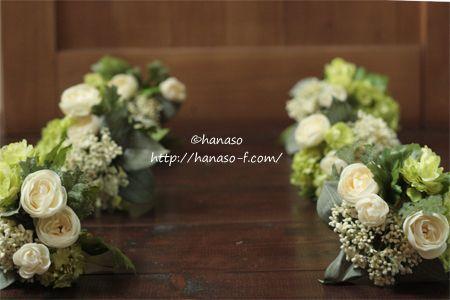 チャペル装花 造花で