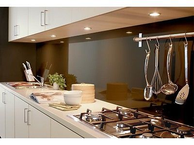 Splashback glass alternative laminex metaline 1 3 cost price bargain in melbourne vic ebay - Splashback alternatives ...