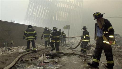 Firefighting at World Trade Center