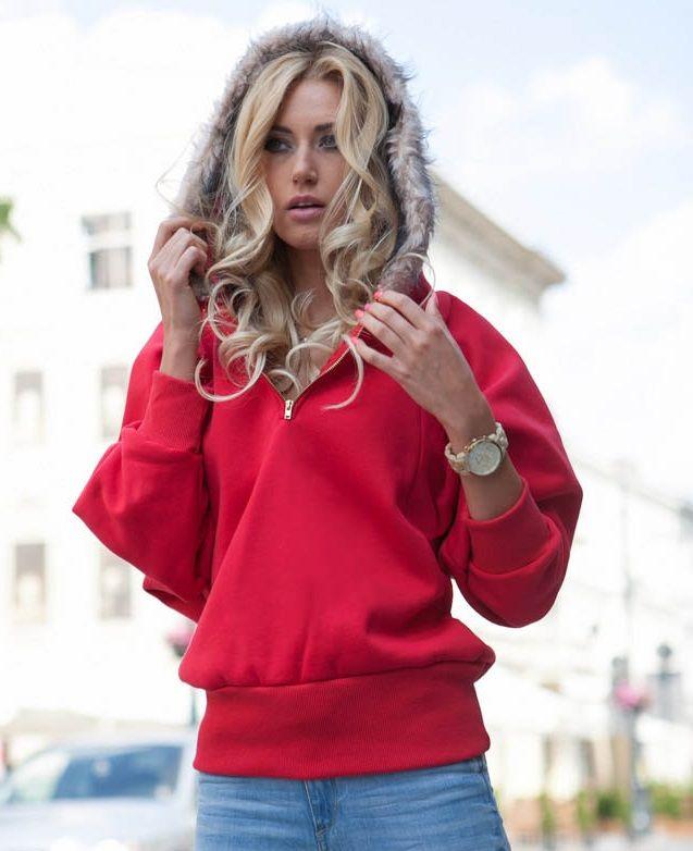 Bluza czerwona #fasardi