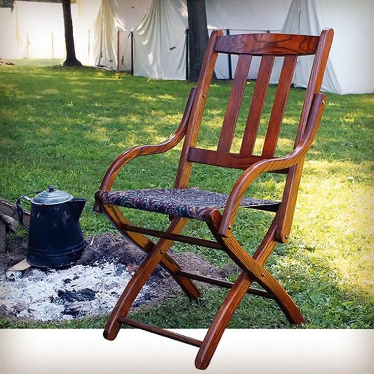 Wood Camp Chair Plans ~ Civil war camp chair plans woodworking projects