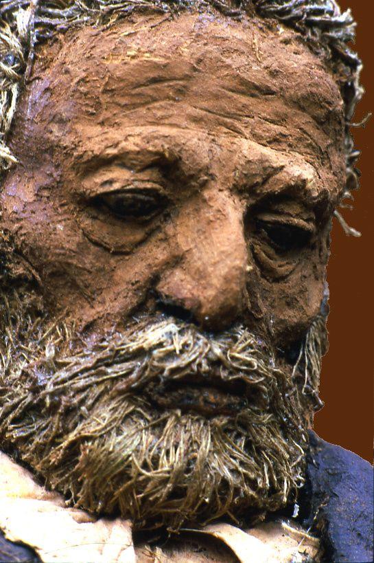 Ousmane SOW et ses sculptures.