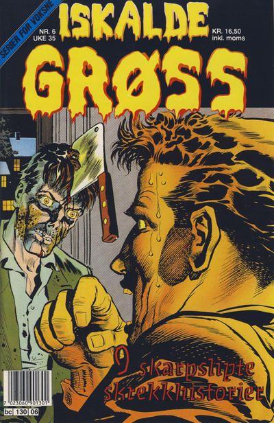 Cover for Iskalde Grøss (Semic, 1982 series) #6/1991