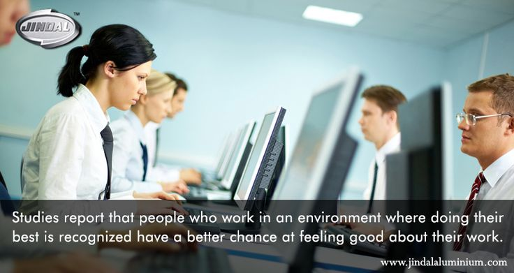 Studies report that people who work in an environment where doing their best is recognized have a better chance at feeling good about their work. This in our opinion makes a lot of difference and this is why we spend a lot of time and effort into making our workplace a positive one. #JindalAluminiumLimited #PositiveWorkEnvironment