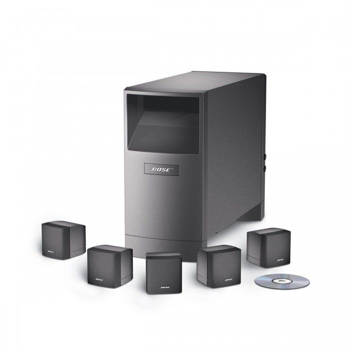 the bose acoustimass 6 speaker system works with your surround sound components to bring amazoncom logitech z906 surround sound speakers rms