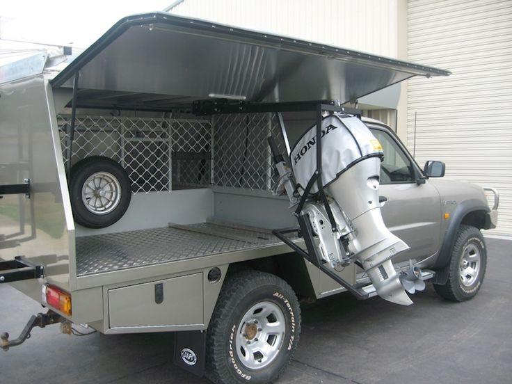 Mfi Service Body With Outboard Motor Bracket Wanderlust