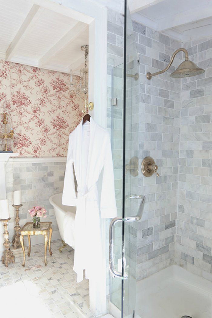 Photo Gallery For Photographers Drab Shower and Bath Go Chic in French Cottage
