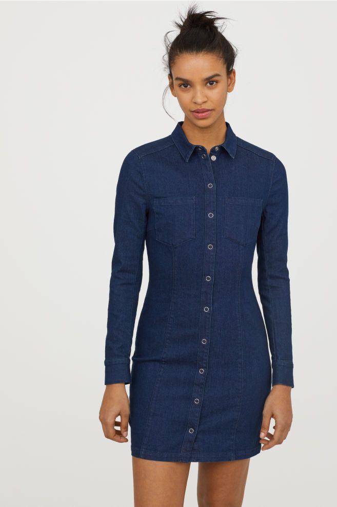 brillance des couleurs pas cher à vendre mode Fitted shirt dress | 2015 Holiday | Stylish shirts, Fashion ...