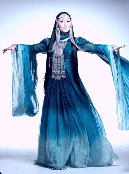 Sakha-Yakut woman