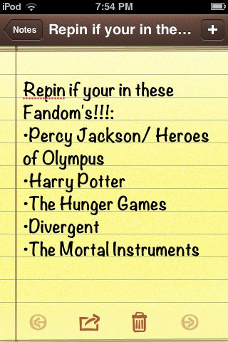 All except Harry Potterand percy jackson