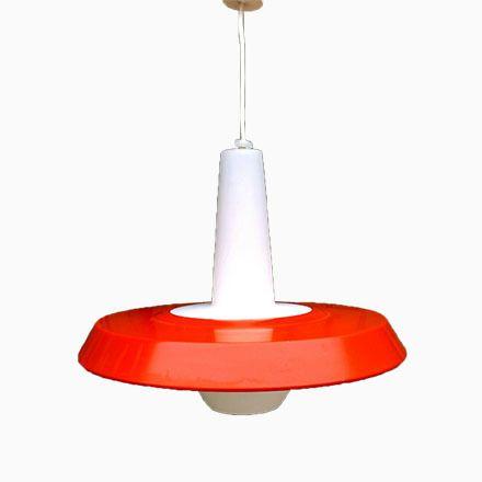 Opalglas & Metall Hängelampe von Louis Kalff für Philips, 1950er Jetzt bestellen unter: https://moebel.ladendirekt.de/lampen/deckenleuchten/deckenlampen/?uid=2ef3cdff-c5d9-5db3-b160-a2065c920bf7&utm_source=pinterest&utm_medium=pin&utm_campaign=boards #deckenleuchten #lampen #deckenlampen