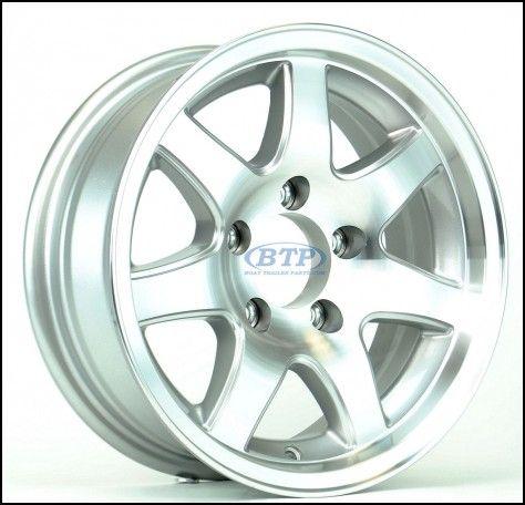 16 Inch Aluminum Trailer Wheels
