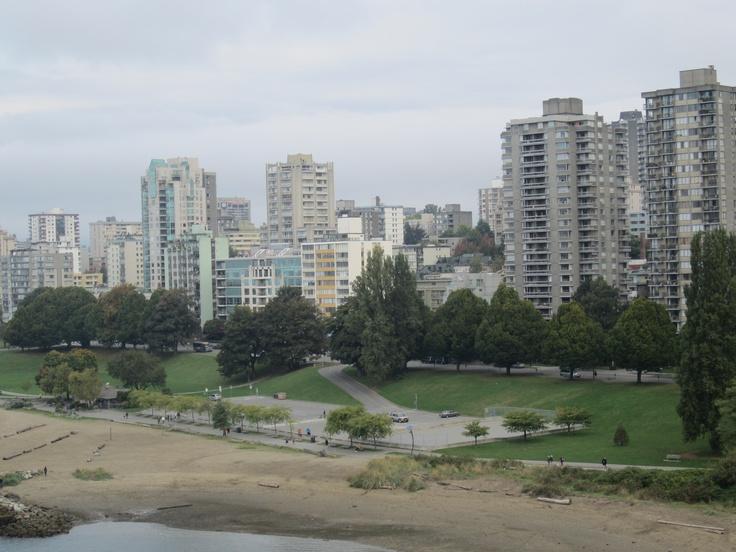 Vancouver from the Burrard Bridge