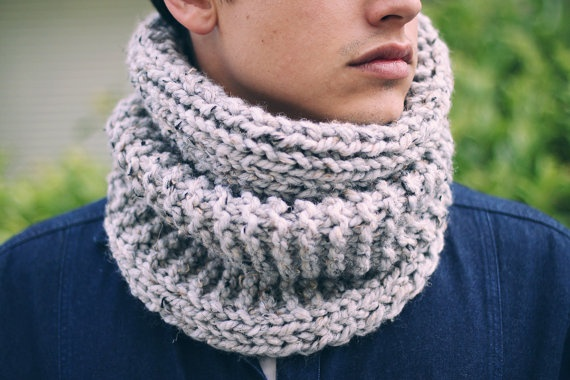 The Balmoral  A Chunky Men's Cowl / Neck by RoyalWindsorKnits, $34.00