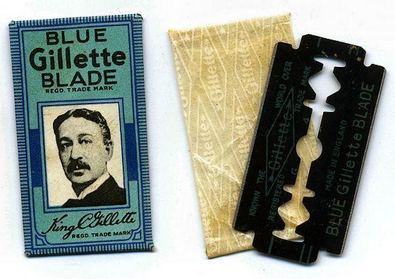 15 november 1904 ♦ Gillette verwerft het patent op het veiligheidsscheermes.