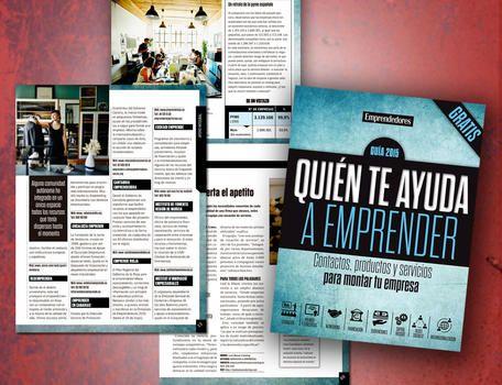 """Descárgate gratis la Guía """"Quién te ayuda a emprender"""" - Revista - Emprendedores - Webs"""