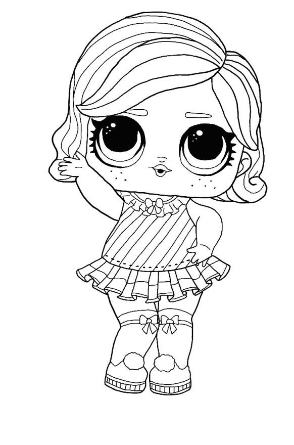 Lol Surprise Winter Disco Coloring Pages Free Coloring Pages