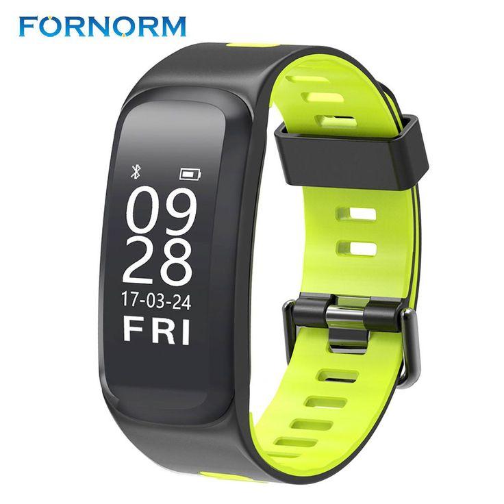 FORNORM F4 Smart Bracelet Altitude Temperature IP68 Waterproof Blood Pressure Smart Wristband Heart Rate Sport Smartband