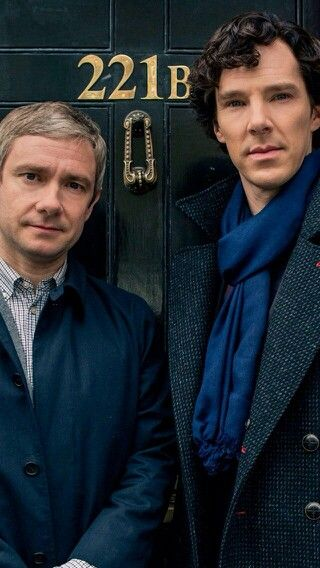 Sherlock. John Watson.