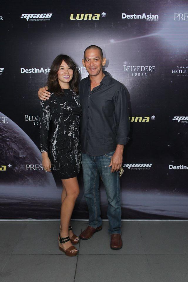 #Lunafriends #Spacechampagne&caviar #launch #party @DesireeDjorghi @Luna2 #friends #Seminyak #Bali